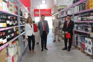 03cec3843ff Grupo DIA ha inaugurado esta mañana en Mercalicante su primer  establecimiento Max Descuento